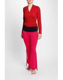 Wrap Top RubyRed S