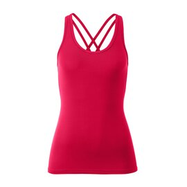 Strappy Top Ann 1102 WarmRed M