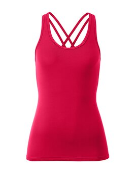 Strappy Top Ann 1102 WarmRed L