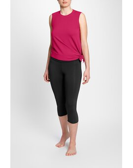 High Yoga 3/4 Leggings 2069 Black XL