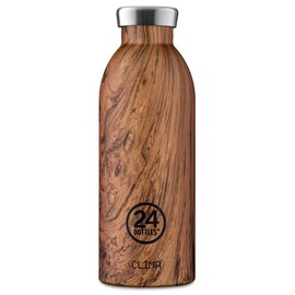 Thermosflasche 0,5 Liter Wood Sequoia