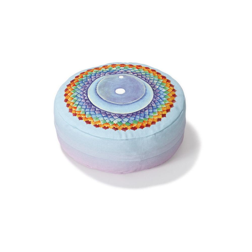 Yogazubehör online kaufen: MK h 8 cm, d 28 cm Crown Chakra Heart Chakra
