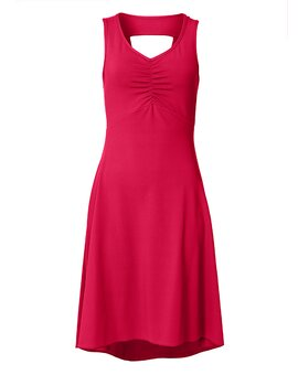Cut Out Dress ANN WarmRed XS