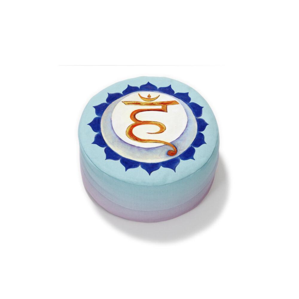 Yogazubehör online kaufen: Yogakissen Hals Chakra + Sakral Chakra