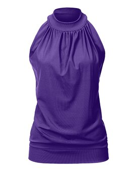 High Neck Top ANN Violett XL