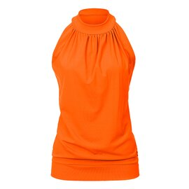 High Neck Top ANN SignalOrange S