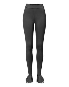 Pierrot Leggings ANN Schwarz L