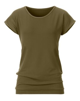Yoga Top 1094 OliveGreen L