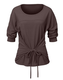 String Shirt ANN GreyBrown S