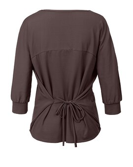 String Shirt ANN GreyBrown M