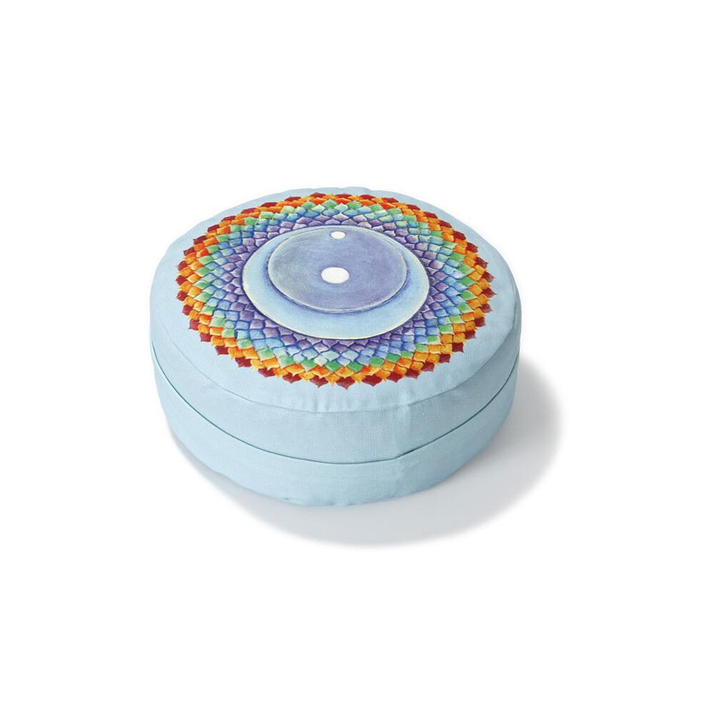 Yogazubehör online kaufen: MK h 8 cm, d 28 cm Crown Chakra Throat Chakra
