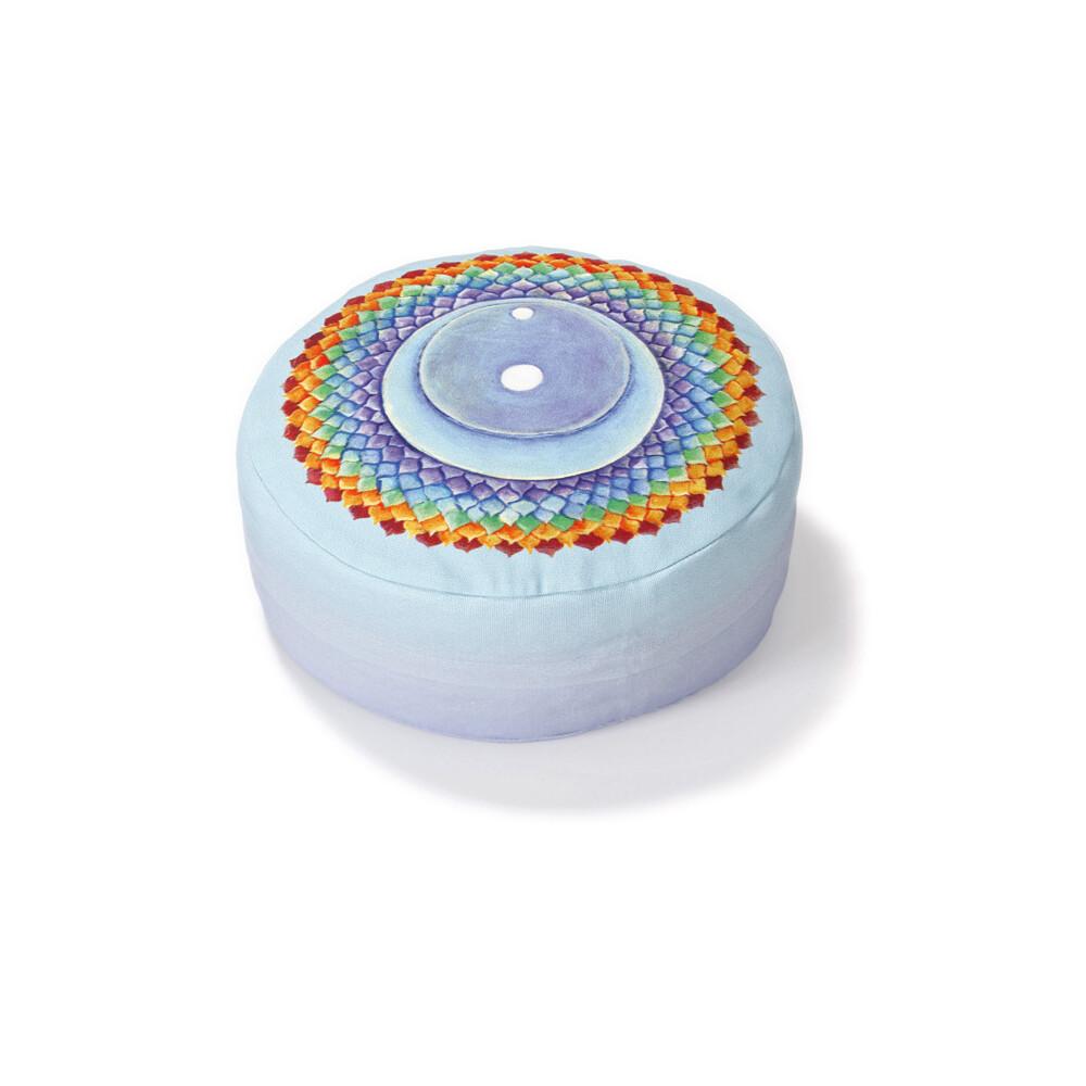 Yogazubehör online kaufen: MK h 8 cm, d 28 cm Crown Chakra Sacral Chakra